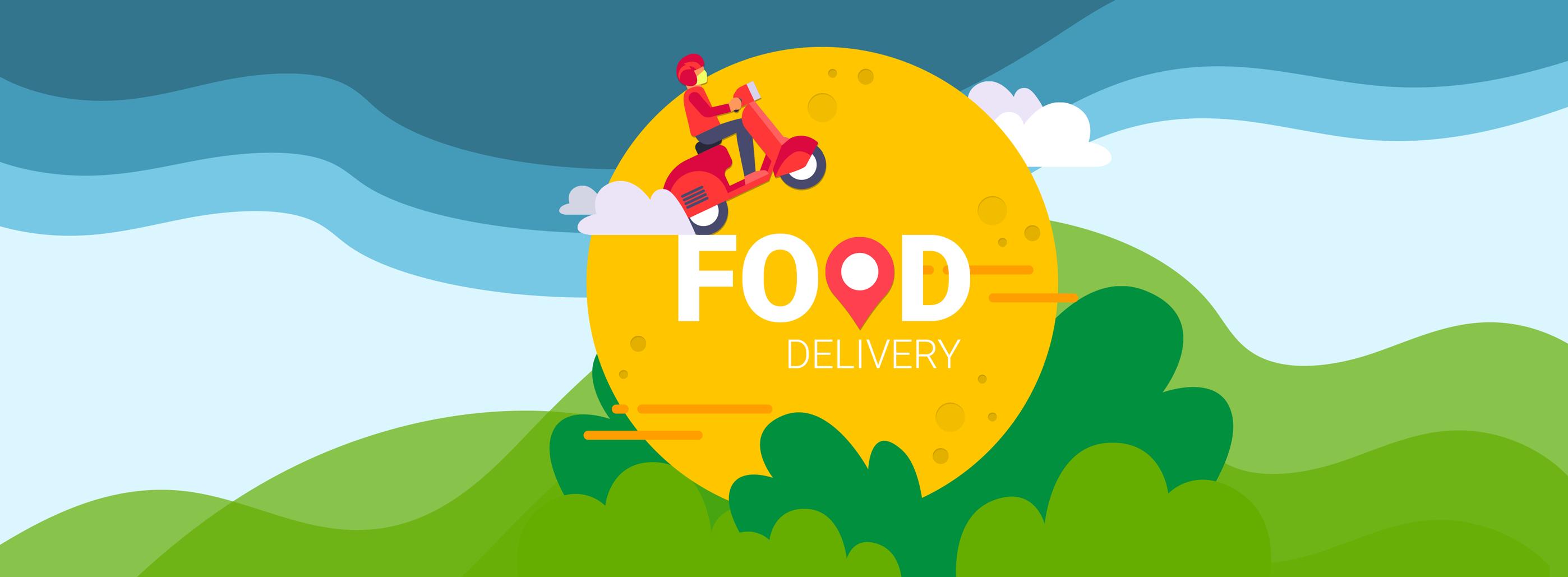 Food delivery app bkg